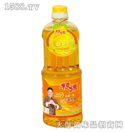 压榨特香花生油900ML-粮源