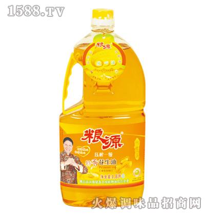 压榨特香花生油1.8L-粮源