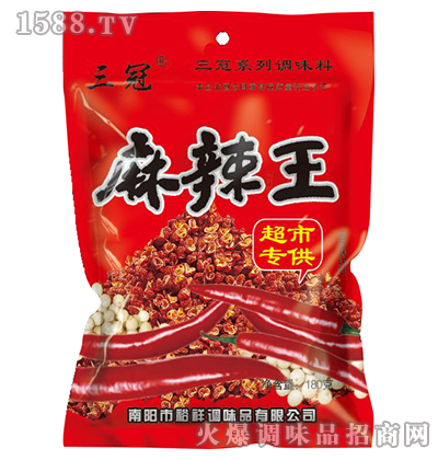 麻辣王调味料180克-三冠