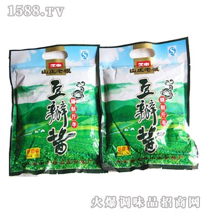 豆瓣酱(精制斤半)-山庄老根