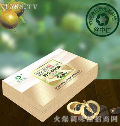 野生茶籽油精品盒-谷中仁