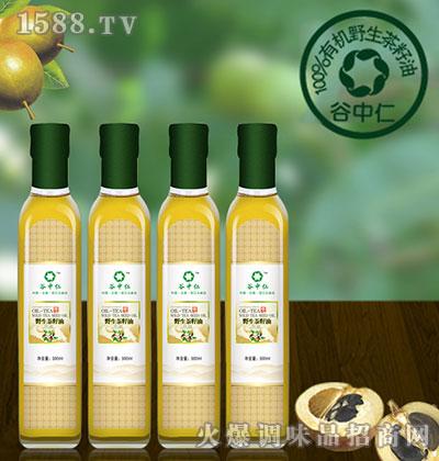 野生茶籽油500ml-谷中仁