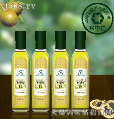 野生茶籽油250ml-谷中仁