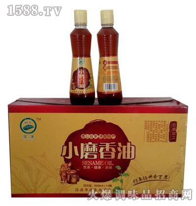 小磨香油400ml*12瓶-华洋