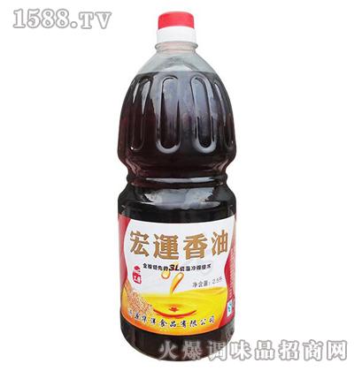宏运香油2.5L-华洋