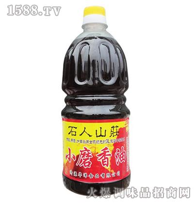 小磨香油1.8L-华洋