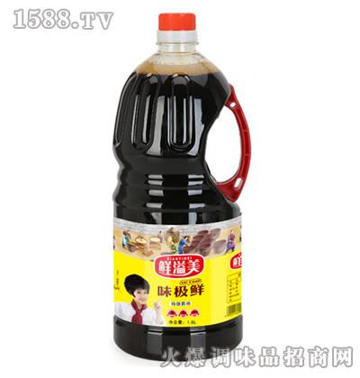 味极鲜酱油1.8L-鲜溢美
