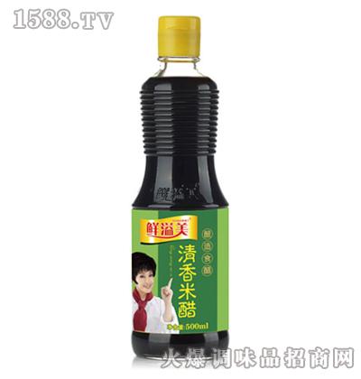清香米醋500ml-鲜溢美
