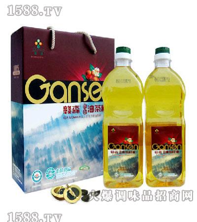醇香油茶籽油1.6L-赣森