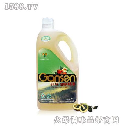 白花有机油茶籽油2L-赣森