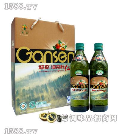 油茶籽仁油500ml礼盒-赣森