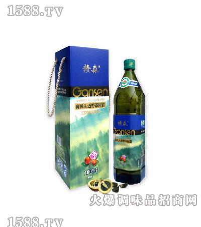 红花有机头道野茶籽油1L-赣森