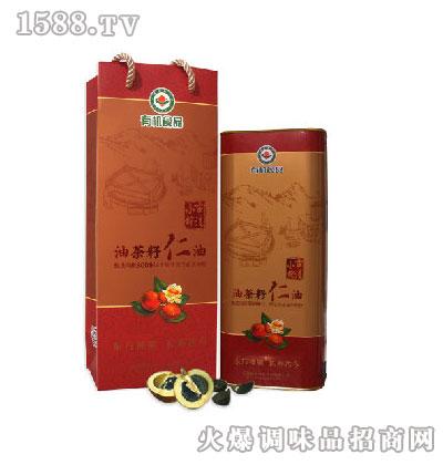 小榨有机油茶籽仁油1.45L-赣森