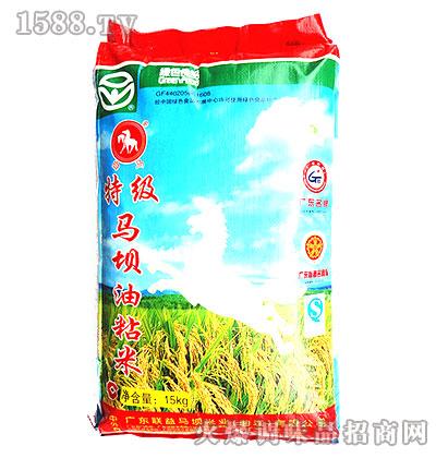 特级马坝油粘米15kg-白马