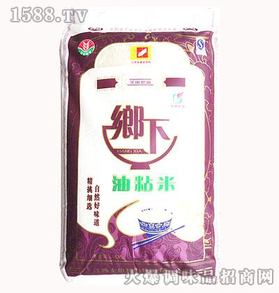 乡下油粘米15kg-金田粮油