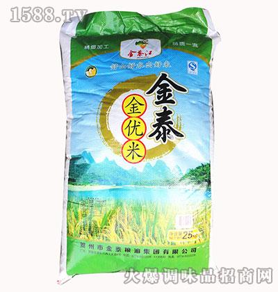 金泰金优米25kg-金茶江