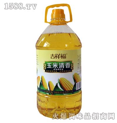 玉米清香食用调和油5L-吉祥福