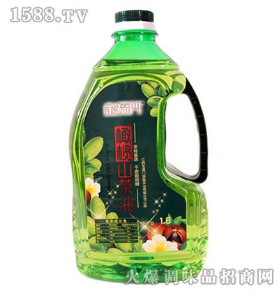 橄榄山茶油1.8L-金福门