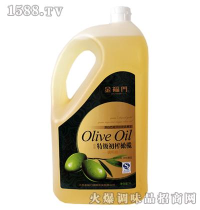 特级初榨橄榄油-金福门