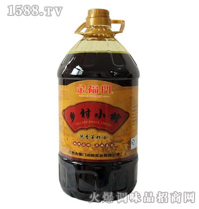 乡村小榨菜籽油-金福门