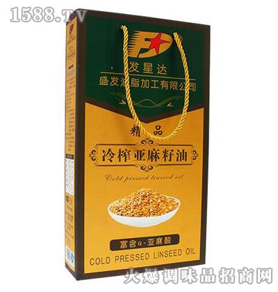 优质亚麻籽油500ml-发星达
