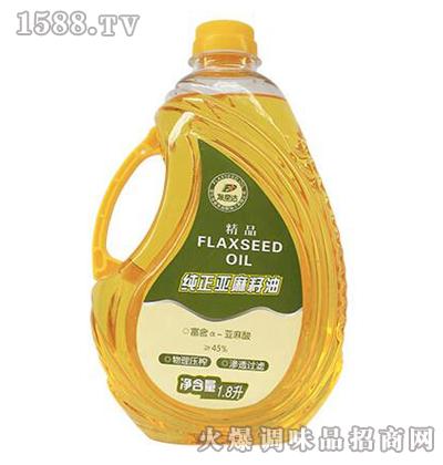 优质亚麻籽油1.8L-发星达