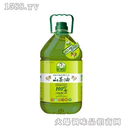 纯压榨生态山茶油5L-长垄山
