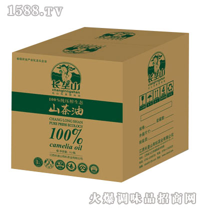 压榨生态山茶油5L礼盒-长垄山