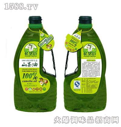 纯压榨生态山茶油1L-长垄山