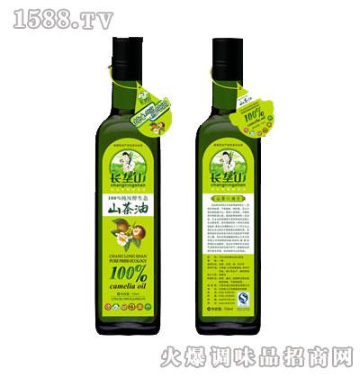 纯压榨生态山茶油750ml-长垄山