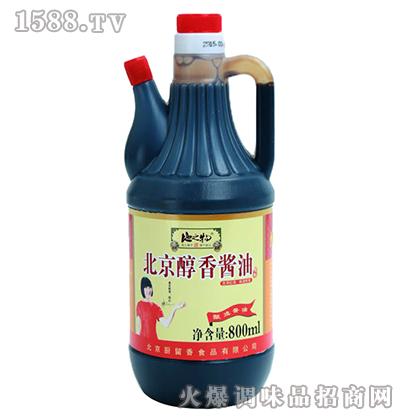 北京醇香酱油800ml-地之物