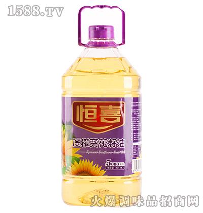 压榨葵花籽油-恒喜