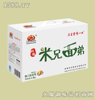 有机荞麦(米兄面弟)4.4kg-刘僧