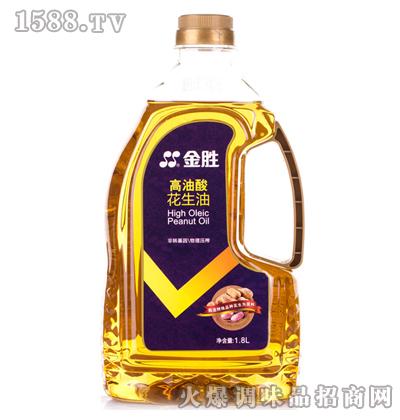 高油酸花生油1.8L-金胜