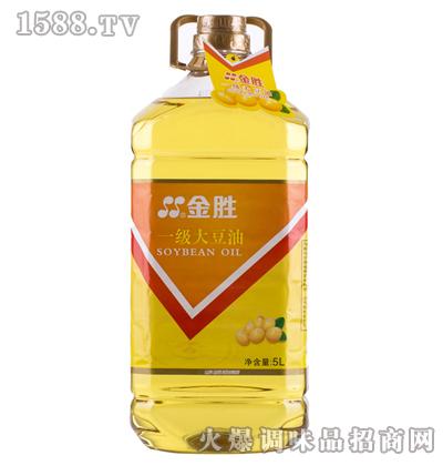压榨一级大豆油5L-金胜