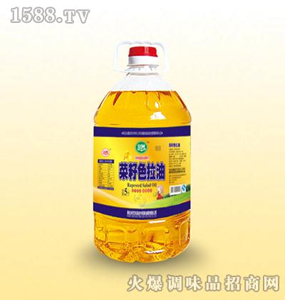 菜籽色拉油5L-延岁