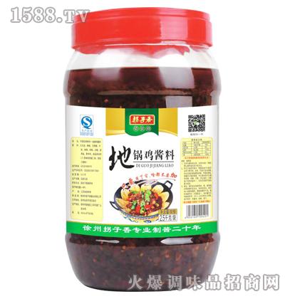 地锅鸡酱料2.5kg-拐子香