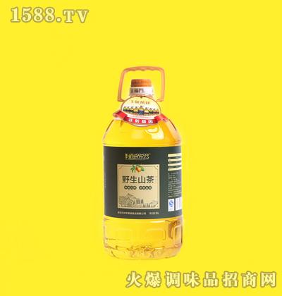 野生山茶油5L桶装-绿浩
