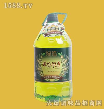 橄榄原香油5L桶装-绿浩