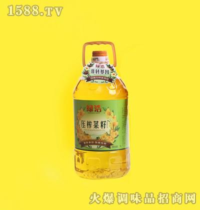 压榨菜籽油5L-绿浩