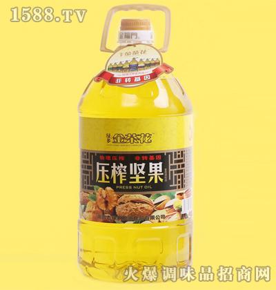压榨坚果调和油5L-金茶花
