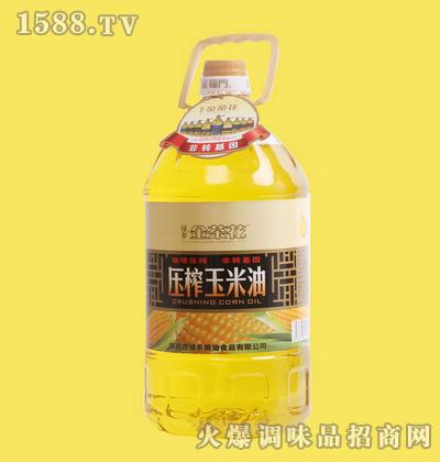 压榨玉米油5L-金茶花