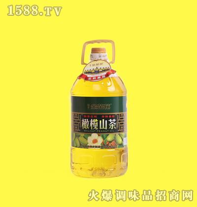 橄榄山茶调和油-金茶花