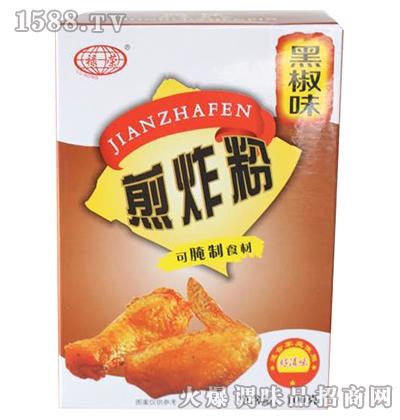 煎炸粉黑椒味100克-禄荣