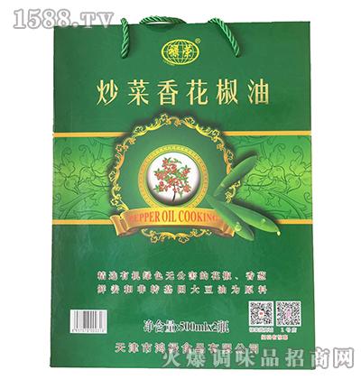 炒菜香花椒油礼盒500ml-禄荣