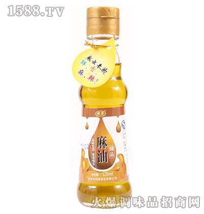 臻品麻油125ml-禄荣