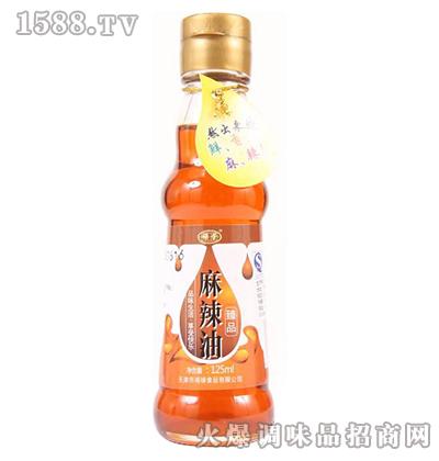 臻品麻辣油125ml-禄荣