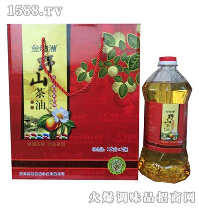 野山茶油(红)1.8L礼品盒-金瑞洲
