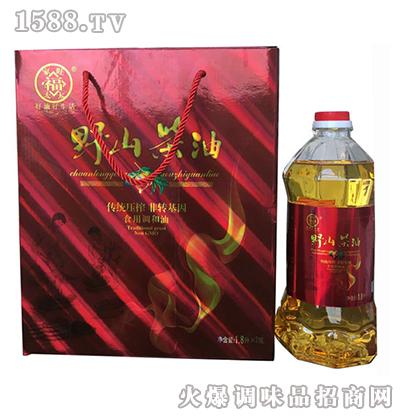 野山茶油(红)1.8L礼品盒-家旺福太太