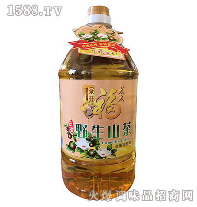 野生山茶油5L-家旺福太太